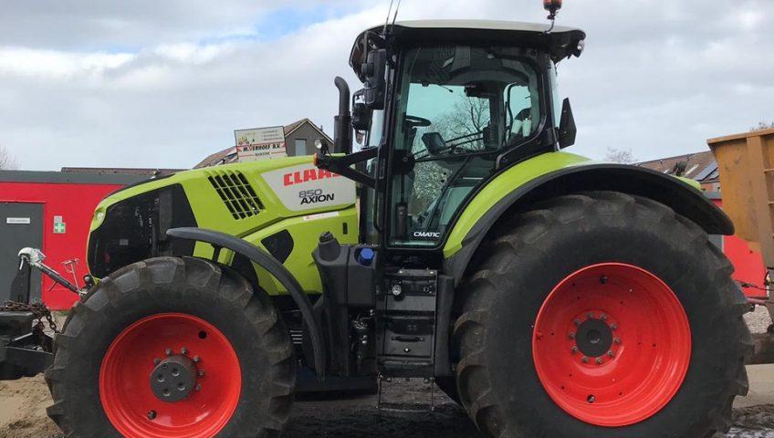 Tractor Loonbedrijf M. Verhoef